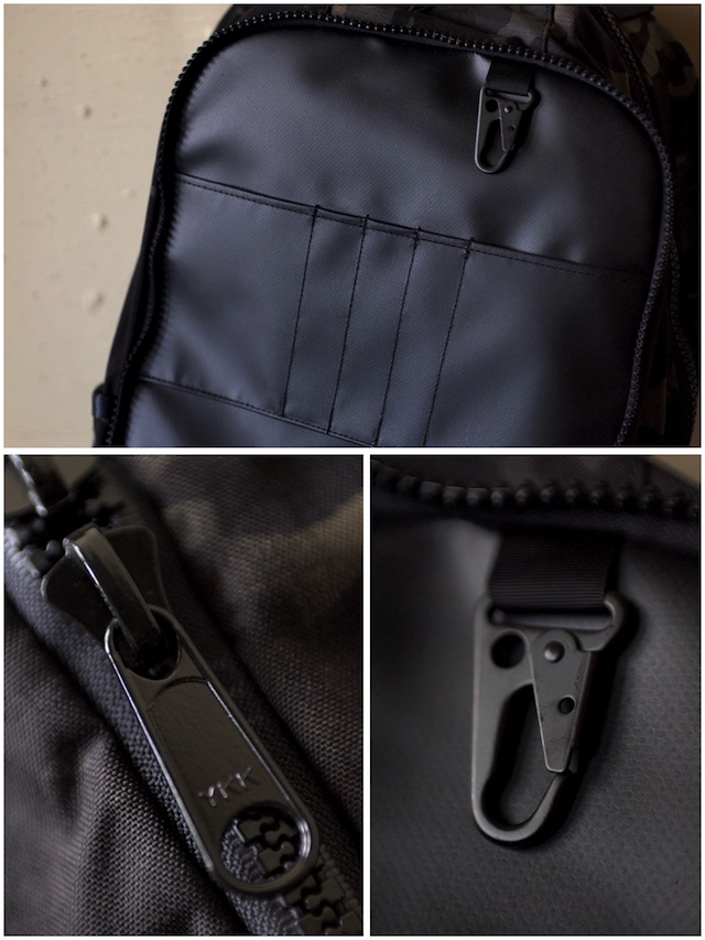 DFY BAGS Bucktown Pack Black Camo Corudra-7
