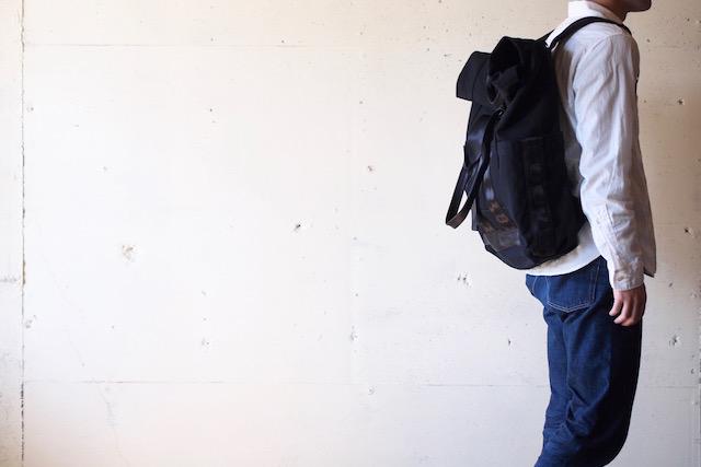 DEFY BAGS Ver Bockel Rolltop Pack Wax Canvas Black-2