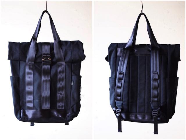 DEFY BAGS Ver Bockel Rolltop Pack Wax Canvas Black-4