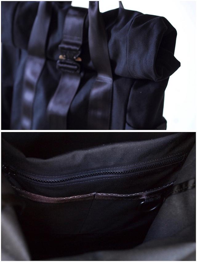 DEFY BAGS, VerBockel Rolltop Pack Wax Canvas Black-5