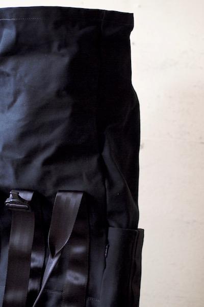 DEFY BAGS, VerBockel Rolltop Pack Wax Canvas Black-9