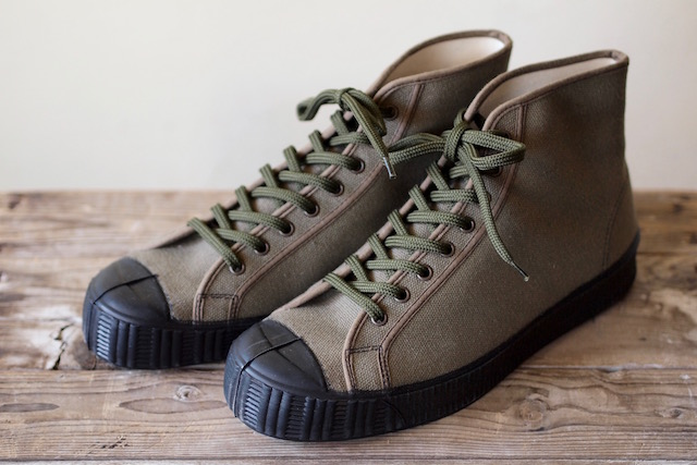 FERN Sneaker Army Model HC, Dark Olive-1