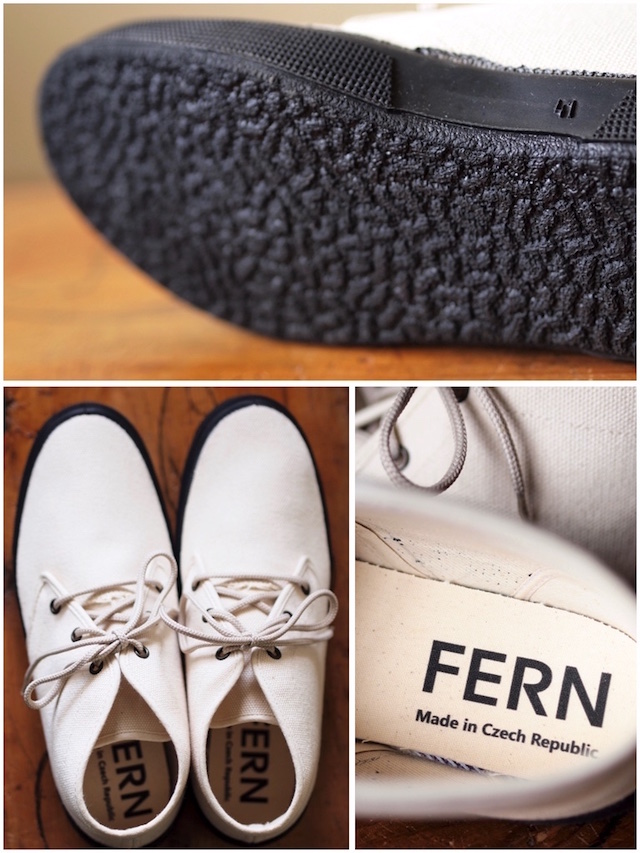 FERN Sneaker Chukka Model HC, Off White-4