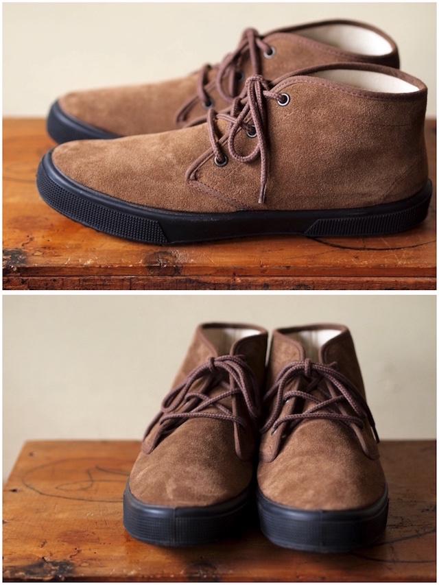 FERN Sneaker Chukka Model Suede, Date-2