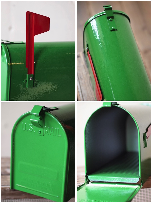 [Fulton] US Mailbox, Green-3