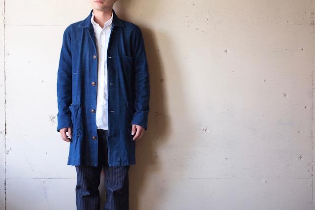 Gypsy&Sons Indigo P-Knit Atelier Coat-2
