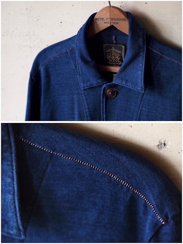 Gypsy&Sons Indigo P-Knit Atelier Coat-6