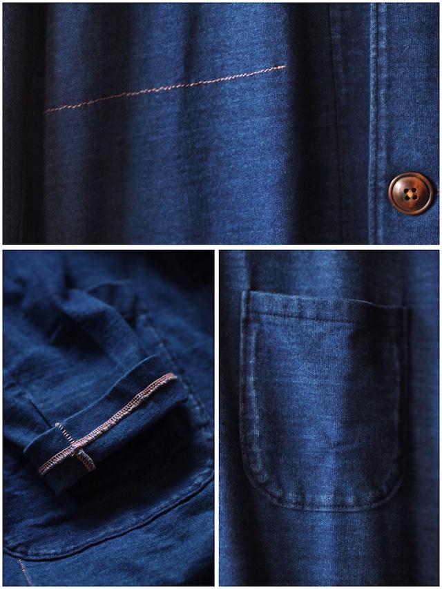 Gypsy&Sons Indigo P-Knit Atelier Coat-7