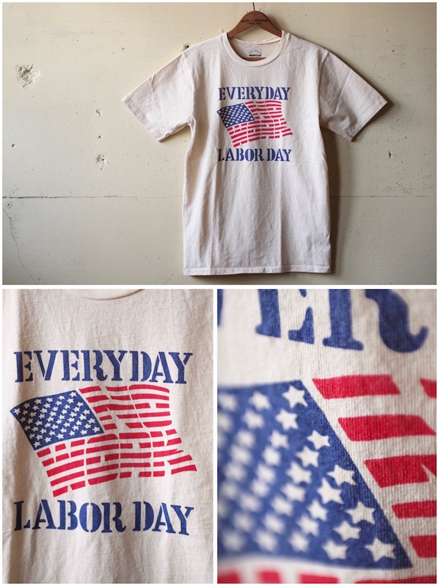 Mixta (ミクスタ) Printed Tee No Work Natural-2