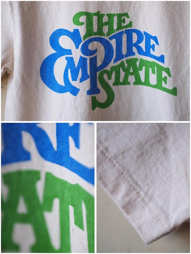 Mixta (ミクスタ) Printed Tee The Empire State Natural-4