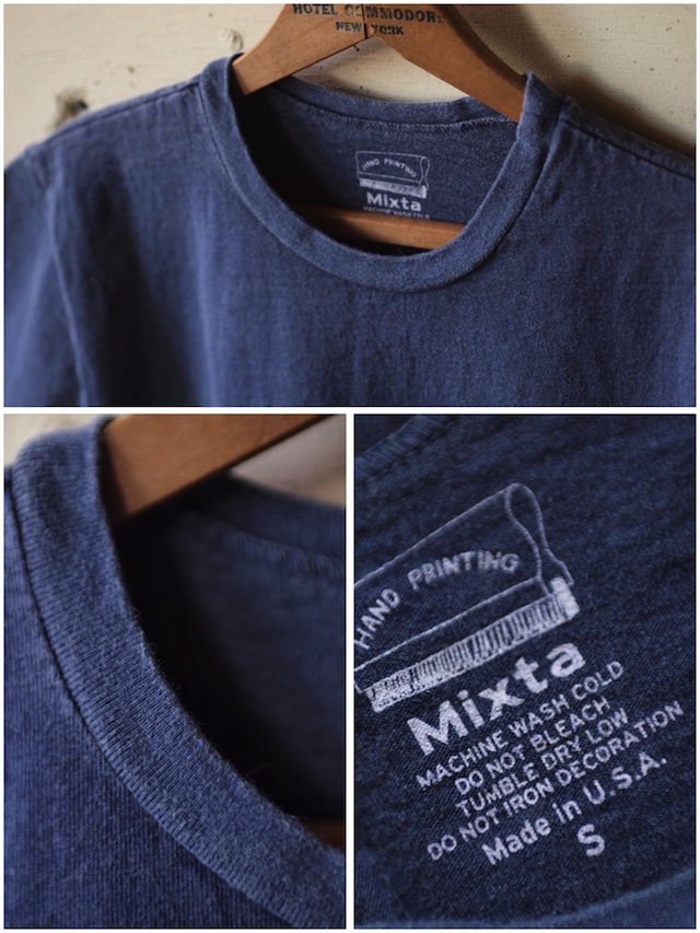 Mixta (ミクスタ) Printed Tee The Empire State Night Ocean-3