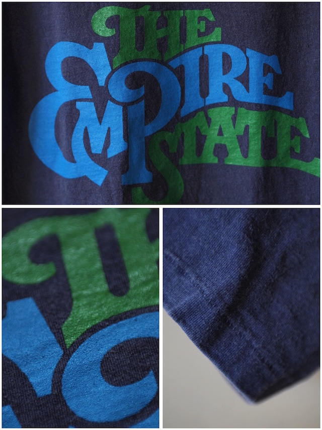 Mixta (ミクスタ) Printed Tee The Empire State Night Ocean-4