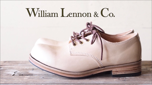 William Lennon Hill Shoes Natural-Top