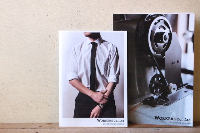 WORKERS 2015 S/S カタログ-Blog
