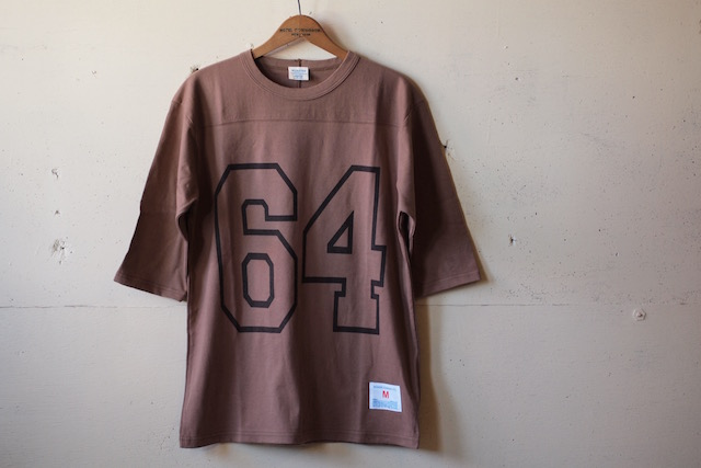 WORKERS Football Tee 64 Coyote-2