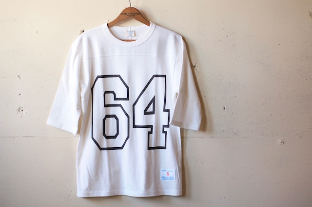 WORKERS Football Tee 64 White-2
