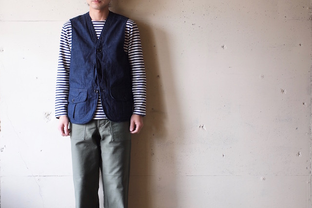 WORKERS Hunting Vest 8oz Denim-2