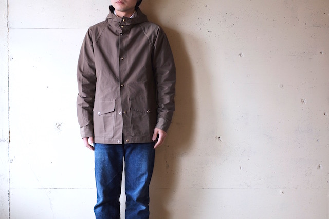 WORKERS Mountain Shirt Parka 60/40 Cloth Khaki-2