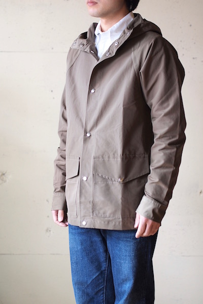 WORKERS Mountain Shirt Parka 60/40 Cloth Khaki-3