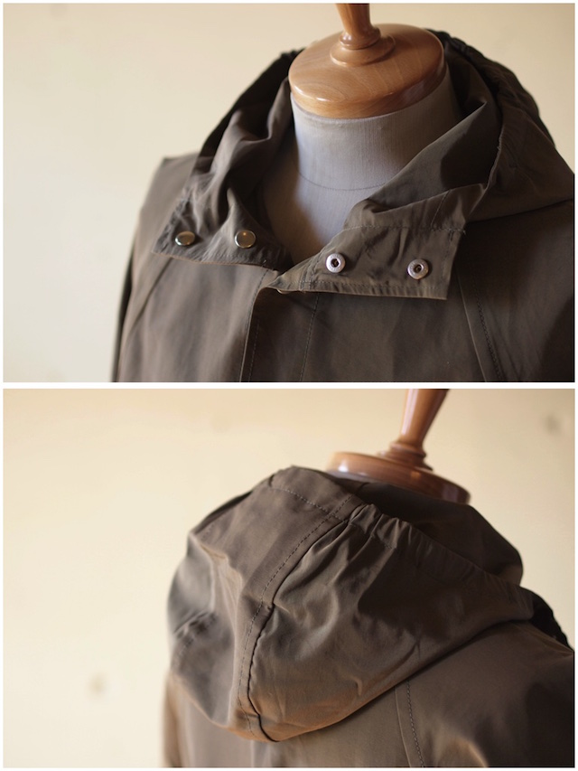 WORKERS Mountain Shirt Parka 60/40 Cloth Khaki-5
