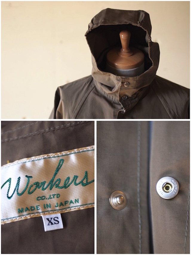 WORKERS Mountain Shirt Parka 60/40 Cloth Khaki-6