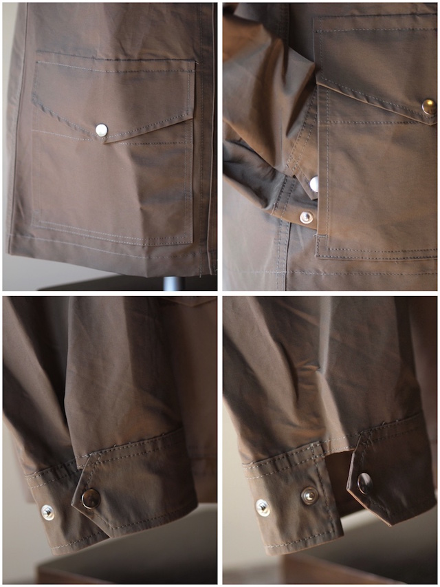 WORKERS Mountain Shirt Parka 60/40 Cloth Khaki-7