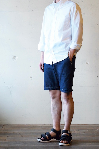 WORKERS Officer Shorts 8oz Denim-3