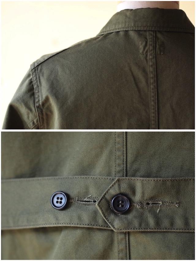 WORKERS Shop Coat 8oz Chino Khaki-6