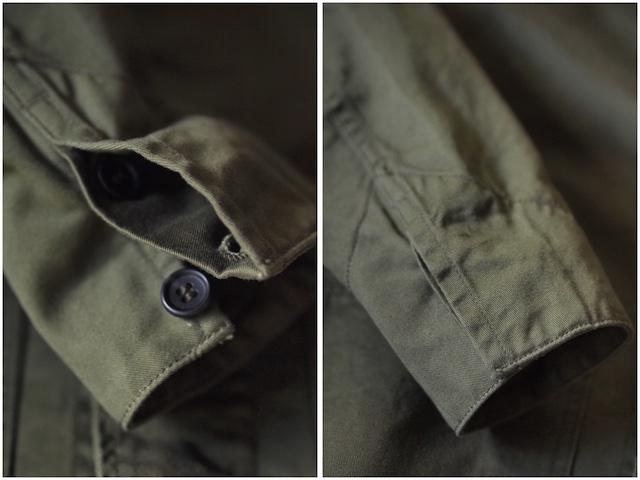 WORKERS Shop Coat 8oz Chino Khaki-7