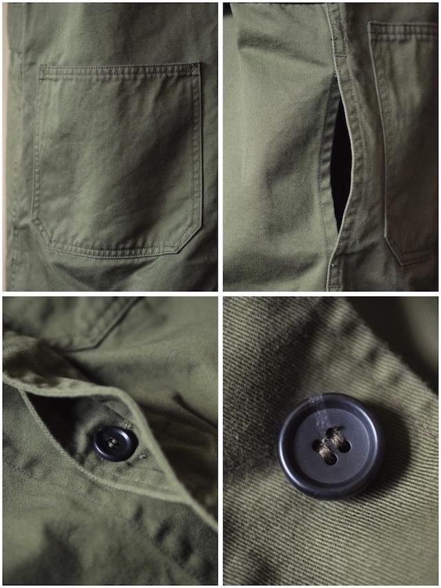 WORKERS Shop Coat 8oz Chino Khaki-8