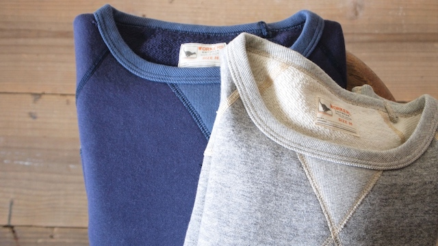WORKERS Sweat Shirt-Top