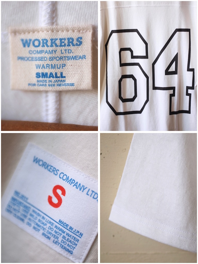 WORKERS Football Tee 64 White-4
